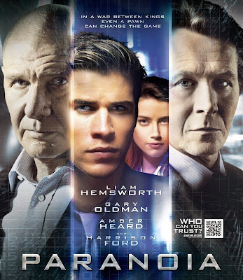 Poster Of Hollywood Film Paranoia (2013) In 300MB Compressed Size PC Movie Free Download At worldfree4u.com