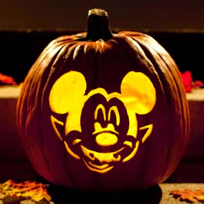 Sasaki time for Mickey mouse vampire pumpkin template