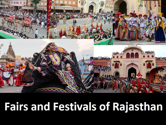 List of Rajasthan Fairs and Festivals