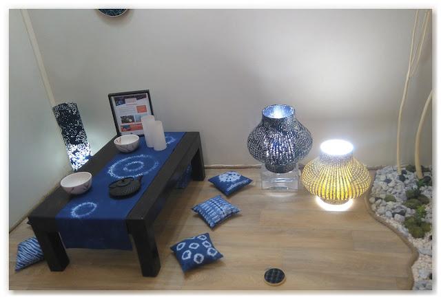 vitrine thé zen l'atelier Lutèce et Sophie Fourmaux