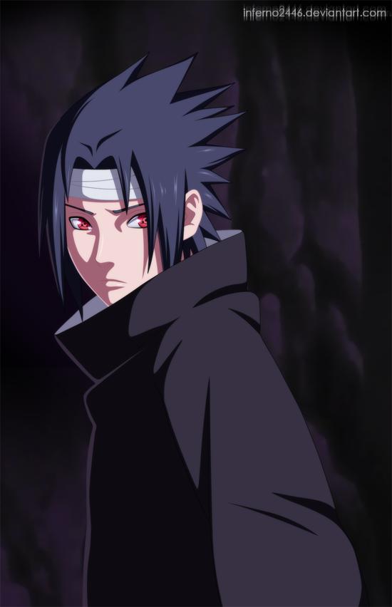 Gambar Sasuke Uchiha Wallpaper Keren HD 5