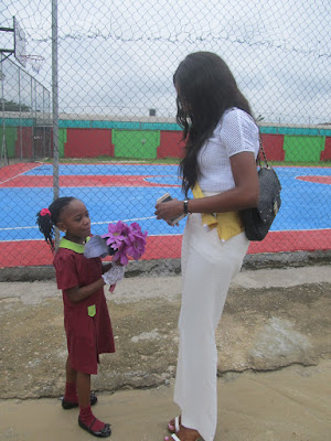 "UNIPORT ALUMNI ""MISS NIGERIA"" VISITS HER ALMA MATA FOR A PRESS CONFERENCE"