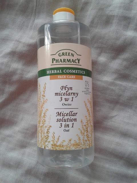 duża pojemność 500 ml plastikowa butelka pół litra płynu micelarnego