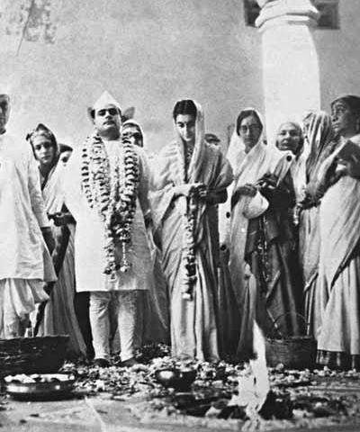 Rare Pics Of Indira Gandhi Feroze Wedding