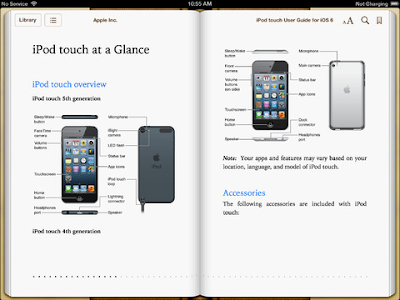 iPod Touch User Guide iBookstore