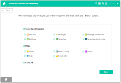 FonePaw Data Recovery Android
