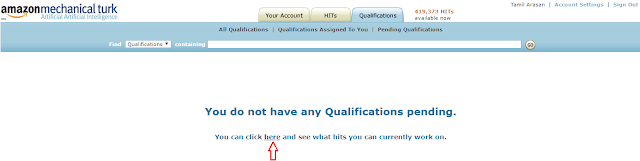 Amazon MTurk HIT qualification