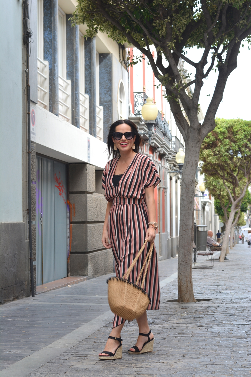 zara-striped-midi-dress-look-personal-shopper