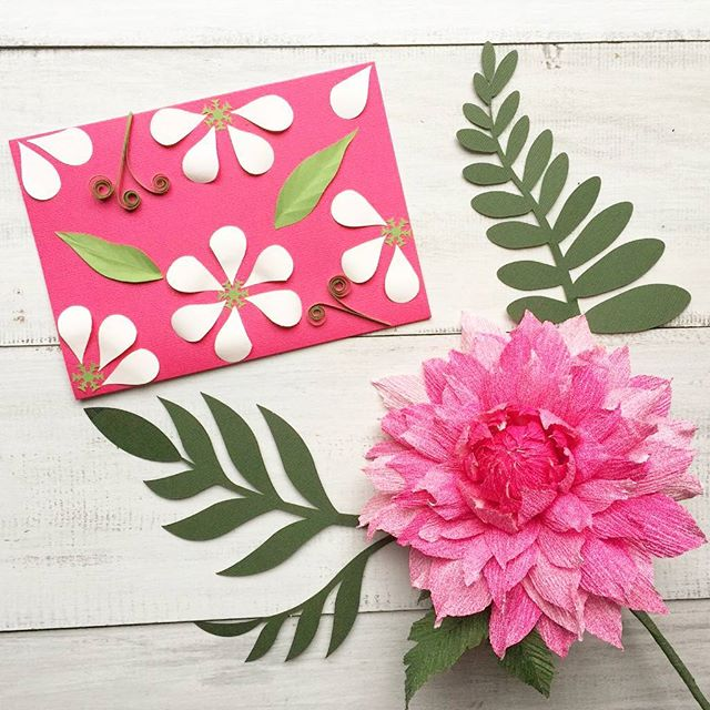 Easy Paper Punch Flowers | Damask Love | 640x640