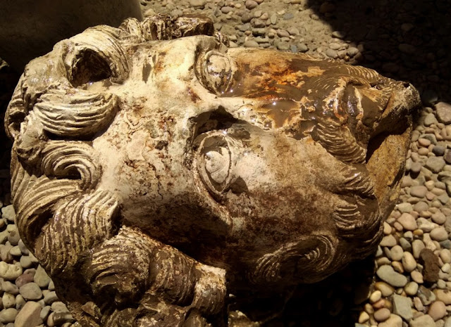 Archaeologists find bust of Roman emperor in Egypt