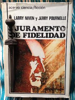 Portada del libro Juramento de fidelidad, de Larry Niven y Jerry Pournelle