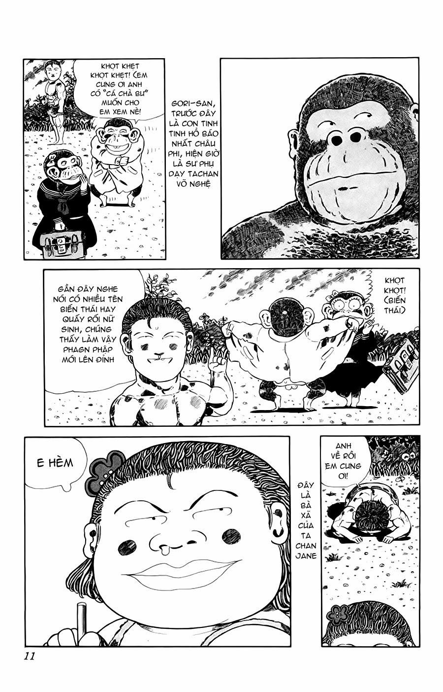 Chúa rừng Ta-chan chapter 113 (new - phần 2 chapter 1) trang 11
