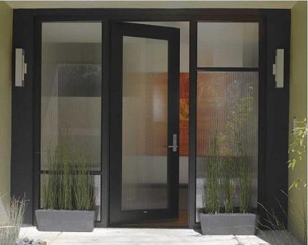 Contoh Desain pintu minimalis modern