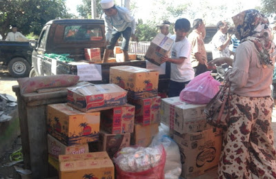 Warga Perumahan Panorama Alam Salurkan Bantuan Peduli Korban Gempa
