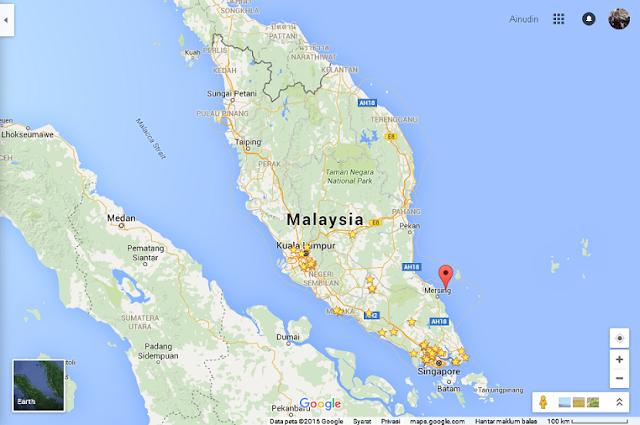 Rawa Island at Johor, Malaysia.