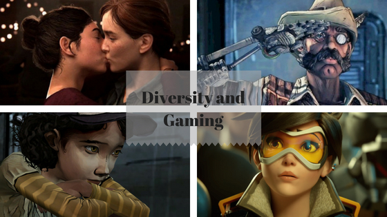 Diversity and Gaming.