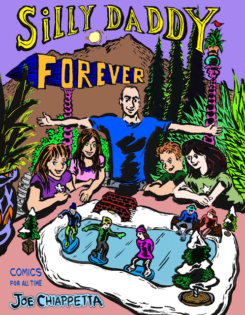 Silly Daddy Forever - comic book ordering page