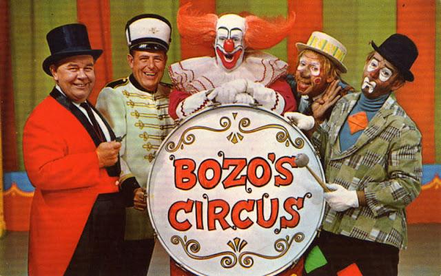 Image: Bozo's Circus 1968 | WGN-TV [Public domain], via Wikimedia Commons