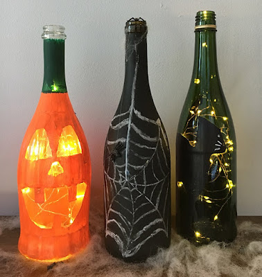 wine bottles, diy halloween, diy home decor, diy projects, do it yourself projects, diy, diy crafts, diy craft ideas, diy home, diy decor