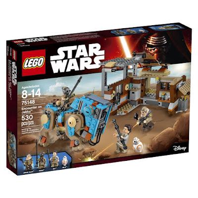TOYS : JUGUETES - LEGO Star Wars  75148 Encuentro en Jakku | Encounter on Jakku  Producto Oficial 2016 | Piezas: 530 | Edad: 8-14 años  Comprar en Amazon España & buy Amazon USA