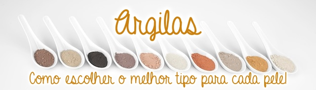 Argilas faciais: Como usar e seus benefícios.