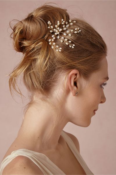 peinados de novia la cascada