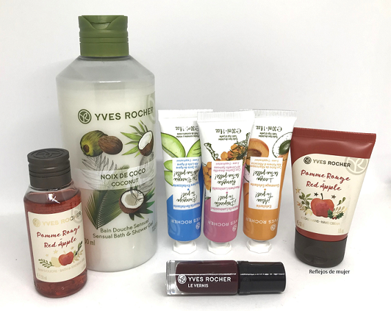 Haul en Yves Rocher
