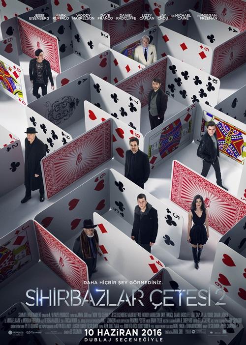 Sihirbazlar Çetesi 2 (2016) Mkv Film indir