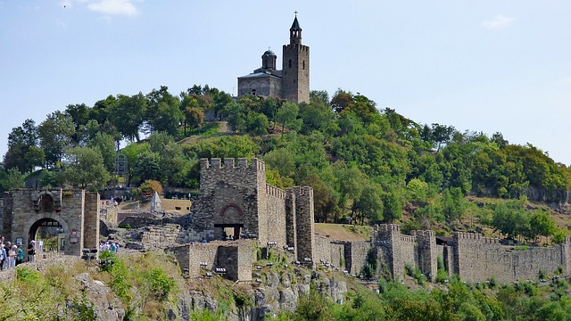 Fortaleza de Tsarevets Veliko Tarnovo Bulgaria