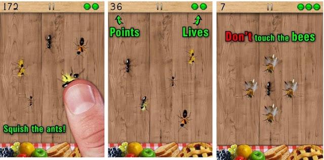 لعبة اسحق النمل للأطفال