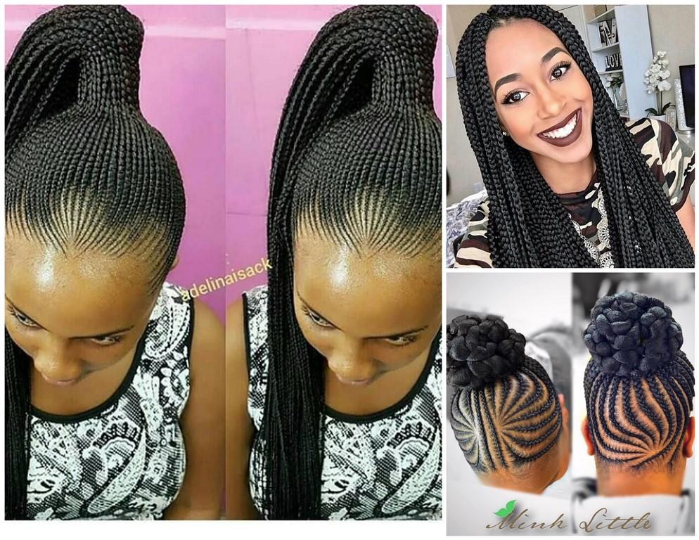 Stylish Braids 2018 : Exclusive Braided Hairstyles - Zaineey\'s Blog