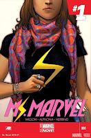 Ms. Marvel #1 by G. Willow Wilson, Adrian Alphona, Ian Herring, Joe Caramagna, Sara Pichelli, Justin Ponsor, Arthur Adams, Peter Steigerwald, Jamie McKelvie