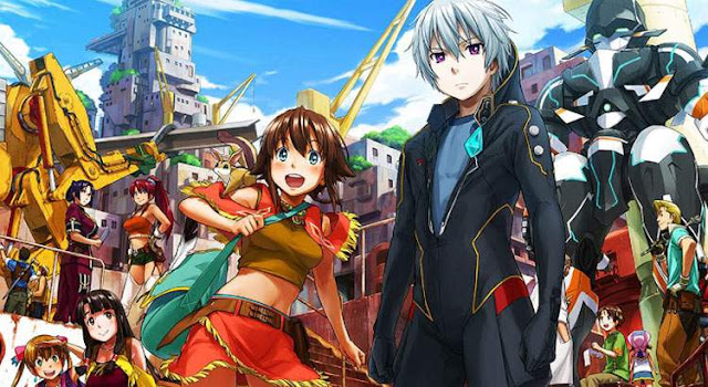 Suisei no Gargantia Batch Episode 1-13 BD + 4 OVA Subtitle Indonesia BATCH