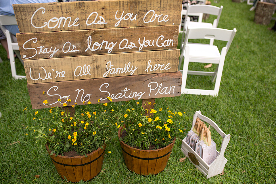 ... Gardens South Florida Come As You Are, Stay As Long As You Can Wedding  Sign South Florida Vero ...