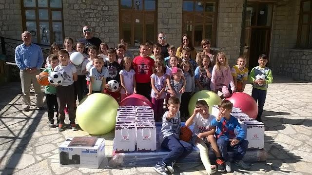 Γιάννενα: Όμορφη η χθεσινή ημέρα για το Δημοτικό Σχολείο Πραμάντων.
