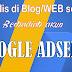 Kompetisi menulis berhadiah akun Google Adsense setiap bulan
