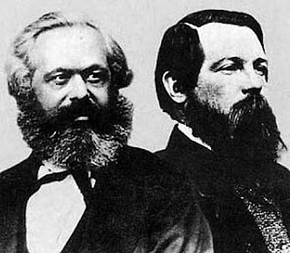 Marx (Left) and Engels (Right)