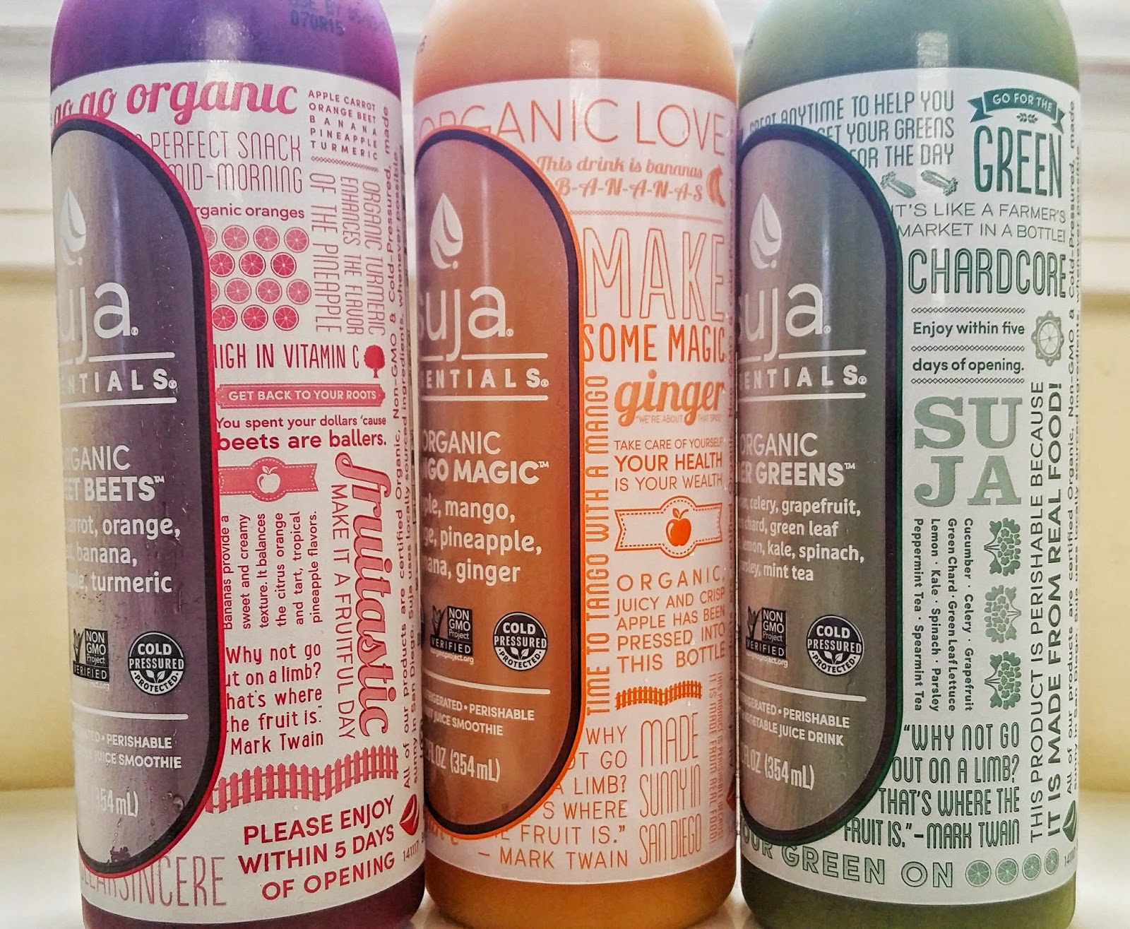 Suja is so good