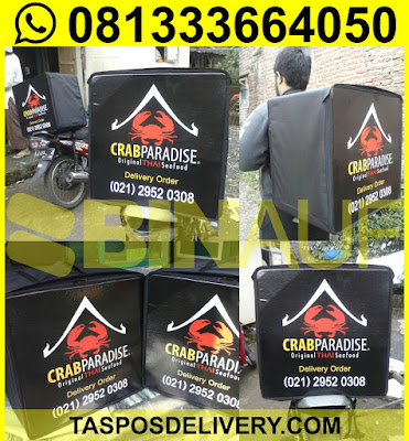 tas delivery makanan Crab paradise jakarta bandung surabaya solo jogja malang denpasar semarang batam bekasi tangerang