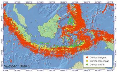 Maluku Termasuk Daerah Rawan Gempa