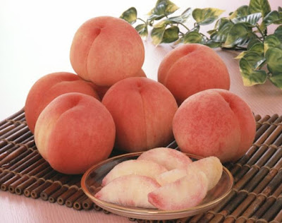 Peaches - a thank you gift for the Hometown Taxation System.