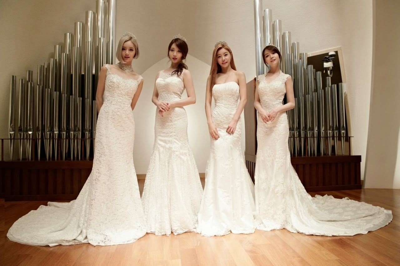 Girl's Day Wedding Dress Something Showcase