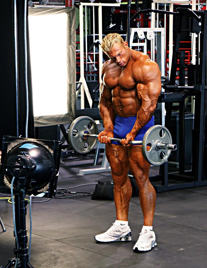 Bodybuilder: Dennis Wolf Biceps Workout