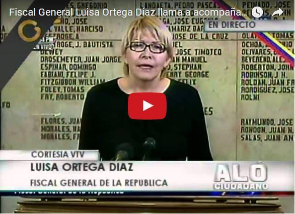 Luisa Ortega podría ser suicidada por el régimen para que no cuente verdadera muerte de Chavez