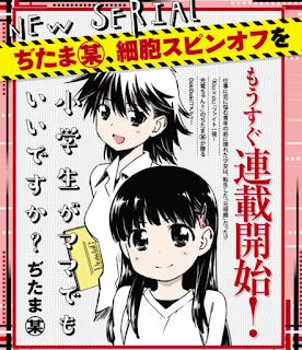 """Bow Ditama comenzará un nuevo manga titulado """"Shogakusei wa Mama demo Ii desu ka?"""""""