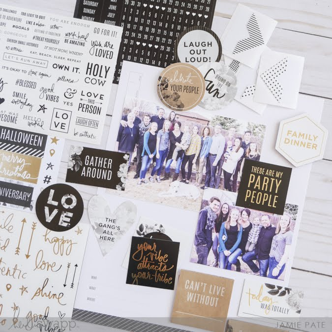 Heidi Swapp Storyline in One Minute by Jamie Pate | @jamiepate for @heidiswapp