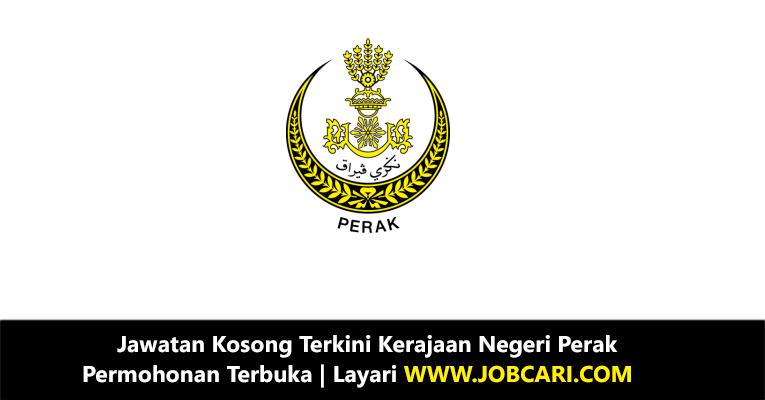 Jawatan Kosong di Kerajaan Negeri Perak 2018
