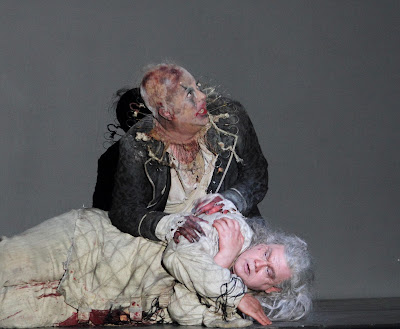 ENO - Tristan and Isolde, Act 3 - Craig Colclough Stuart Skelton - photo Catherine Ashmore