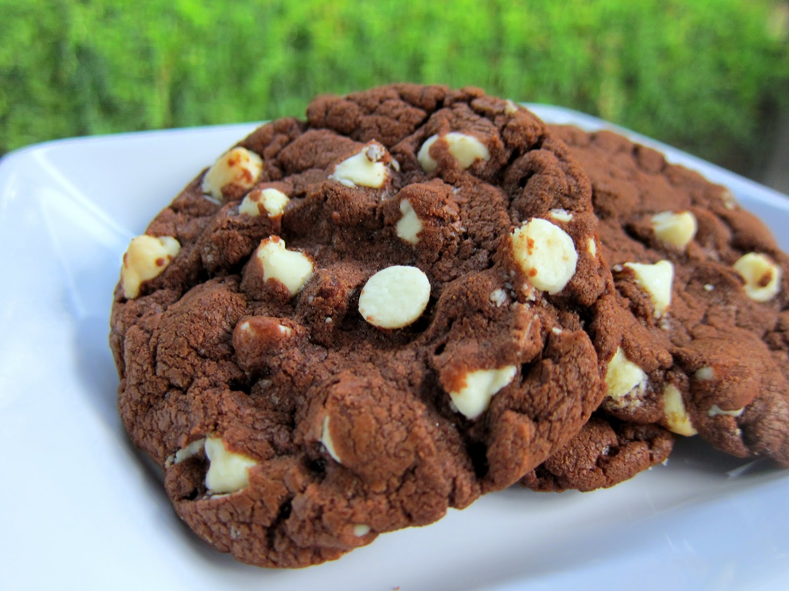 White Chocolate Chip Nutella Cookies Plain Chicken