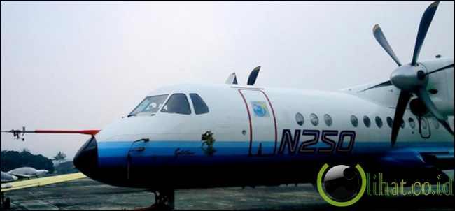 Pesawat N-250 di PTDI